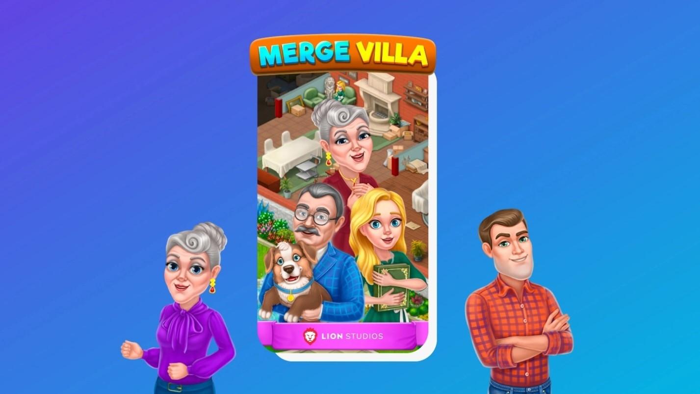 在《Merge Villa》中实现您的理想之家