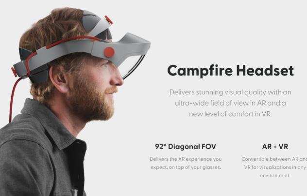 ?AR公司Campfire融资超800万美元,计划今年秋季发布产品