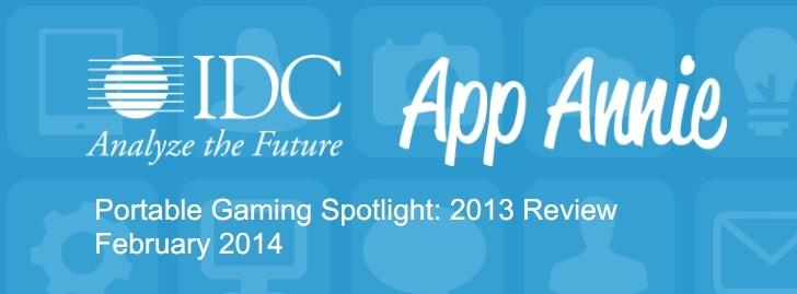 App Annie:2013年4季度移动便携游戏报告